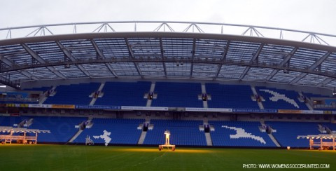 Brighton & Hove Albion's American Express Community Stadium to host FIFA Women's World Cup 2015 qualifier