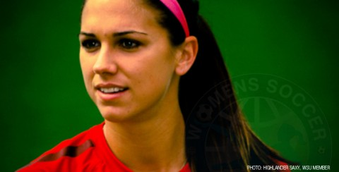 USWNT forward Alex Morgan will miss the Algarve Cup 2014