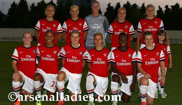 Arsenal team 2014