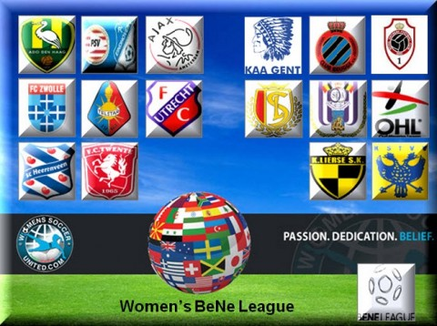 Women's BeNe League Match Results 14th March 2014