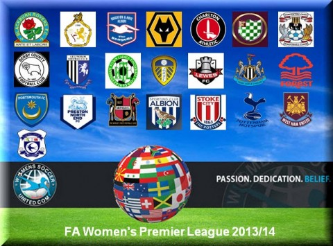 FA Women's Premier League's Northern and Southern Results 2nd March 2014