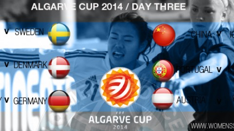 Day Three at the Algarve Cup 2014