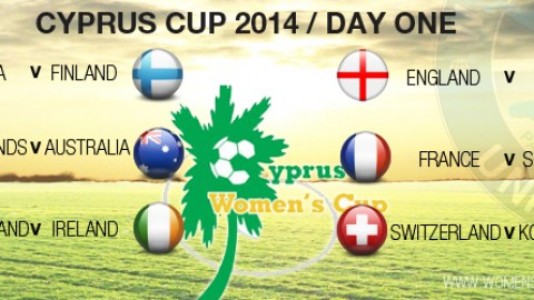 Day One at the Cyprus Cup 2014