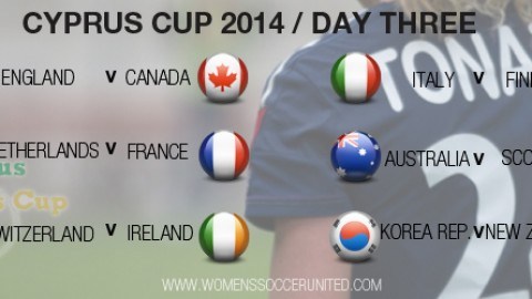 Day Three at the Cyprus Cup 2014