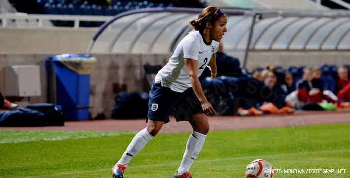 Alex Scott, England Women's National Football Team