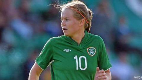 Late goal foils Irish women