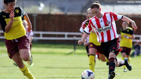 Sunderland Ladies defeat Watford 4-1 in the English FA Cup 4th round