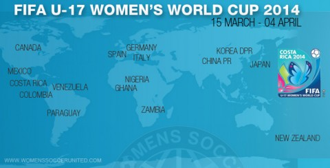 New attendance record of 35,000 at FIFA U-17 Women's World Cup 2014 opening game!
