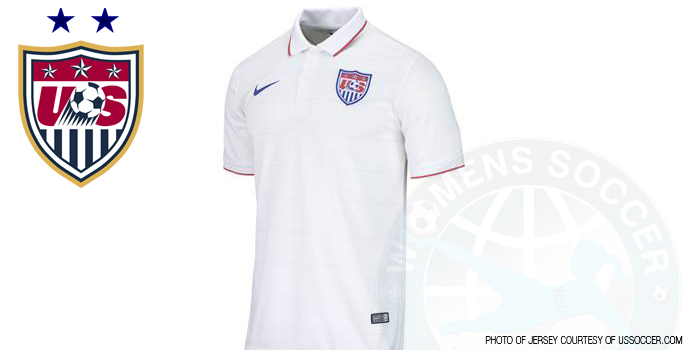 1e093fa958c U.S. Soccer and Nike have unveiled a new U.S. Men s and Women s National  Team home kit for 2014.