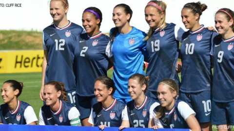 USWNT To Face France on June 14 in Tampa, Florida, and June 19 in East Hartford, Connecticut