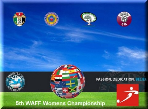 Jordan win the 5th WAFF Women Football Championship 2014