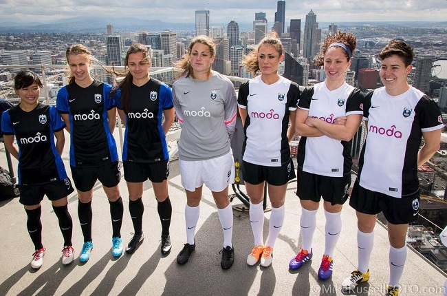 Seattle Reign FC new kit 2014