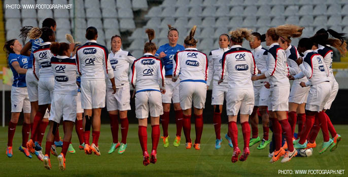 France Women's National Team 2014