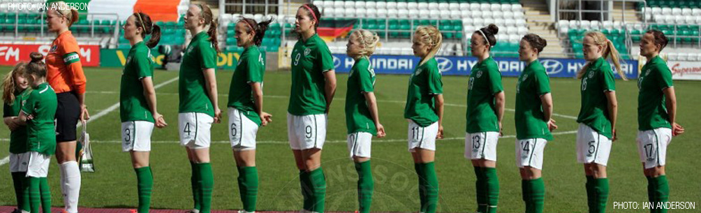 Republic of Ireland Women's National Team 2014