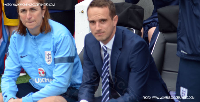 Mark Sampson, England Women's National Team head coach