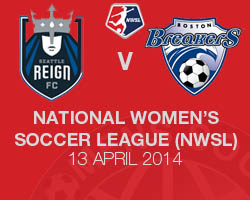 Seattle Reign FC v Boston Breakers 2014 NWSL