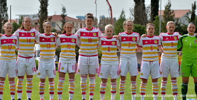 Scotland Women's National Team 2014