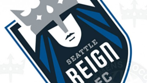 Seattle Reign loan Keelin Winters, Kendall Fletcher, Haley Kopmeyer and Kate Deines during NWSL offseason