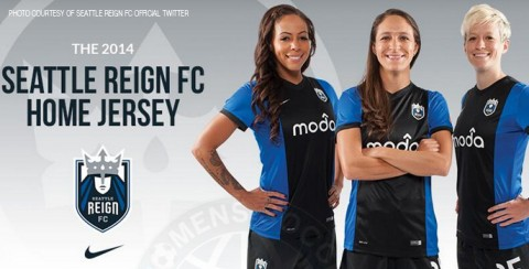 Seattle Reign FC Unveil New Kit Atop Space Needle ahead of NWSL 2014 season