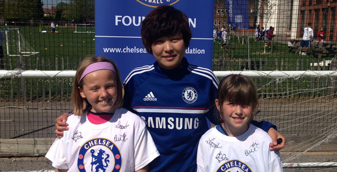 Ji So Yun Chelsea Ladies
