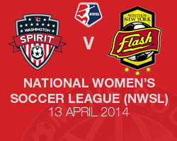 Washington Spirit v Western New York Flash 2014 NWSL