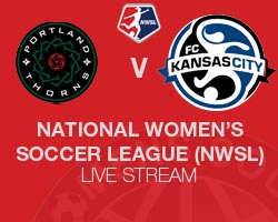 Portland Thorns FC v FC Kansas City NWSL 2014 Live broadcast
