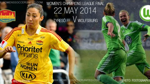 Tyresö FF v VfL Wolfsburg | UEFA Women's Champions League Finalists confirmed!