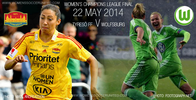 UEFA Women's Champions League Final 2014! Tyreso v Wolfsburg