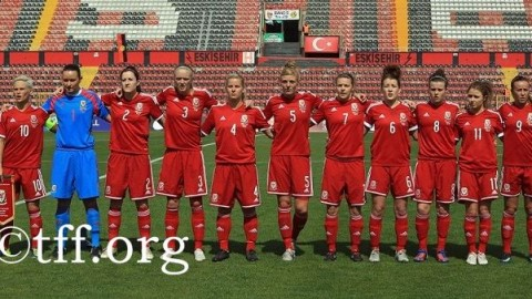 Wales Women's National Team beat Turkey 5 – 1