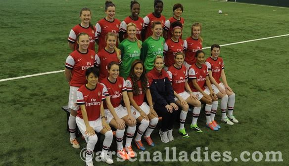 Arsenal team photo 2014