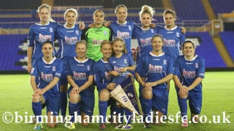 Birmingham City Ladies top the FA Womens Super League one