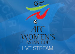 AFC Women's Asian Cup 2014 Live match broadcast