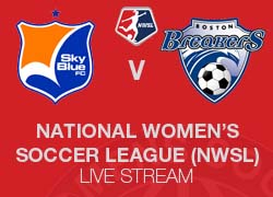 Sky Blue FC v Boston Breakers 2014 NWSL Live broadcast