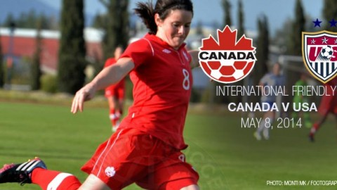 International friendly: Canada v USA (8 May 2014)