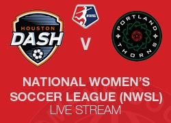 Houston Dash v Portland Thorns NWSL 2014 Live broadcast