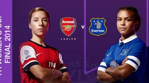 FA Women's Cup Final 2014: Arsenal Ladies 2-0 Everton Ladies