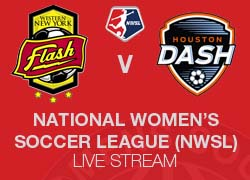 WNY Flash v Houston Dash NWSL live broadcast