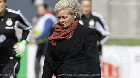 Germany coach Silvia Neid announces 26-player squad for winter training camp