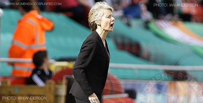 Sue Ronan Republic of Ireland manager on Women's Soccer United
