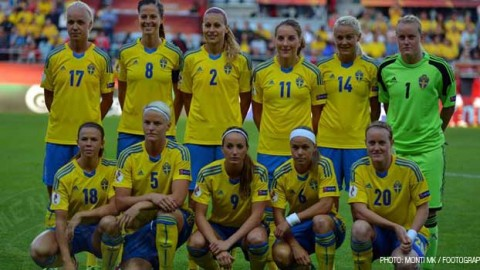 Sweden squad announced for World Cup qualifiers against Scotland and the Faroe Islands