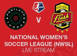 Portland Thorns FC v Western New York Flash 2014 NWSL Live broadcast