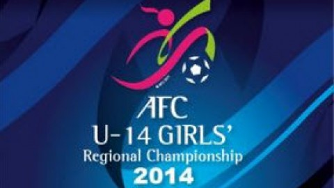 Japan play DPR Korea Final AFC U14 Girls Regional Championship