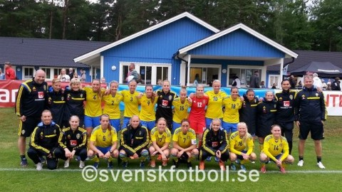 Sweden draw with England Womens U23 Friendly 17th June 2014
