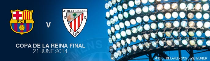 FC Barcelona - Athletic Club (final Copa de la Reina)