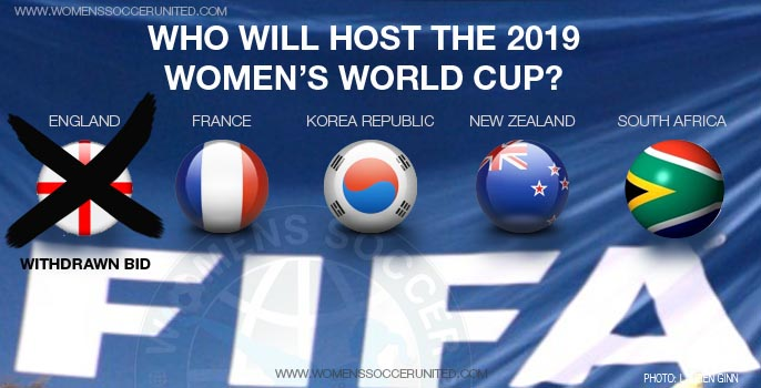 FIFA Women's World Cup 2019 World Cup bidders