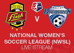 WNY Flash v Boston Breakers NWSL live broadcast