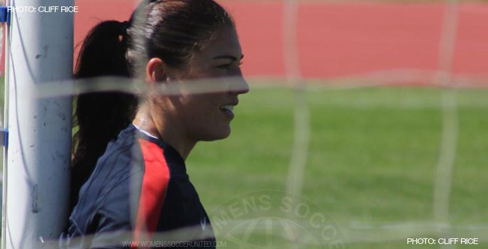 Hope Solo, USWNT goalkeeper
