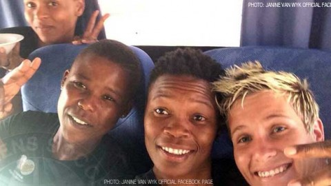 Banyana Banyana on the road… And river!