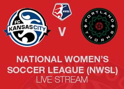 FC Kansas City v Portland Thorns NWSL live broadcast
