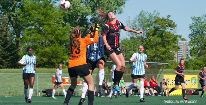Ottawa Fury Lisa-Marie Woods